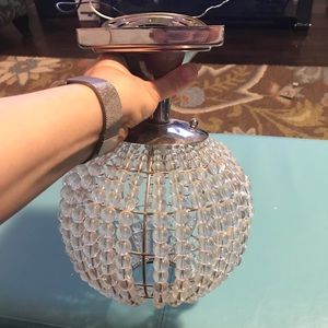 Glass Beaded Surface Mount Ceiling Light